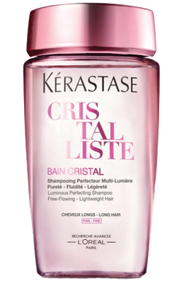 BAIN CRISTAL - לשיער דק <br> אמבט חפיפה (שמפו) משלים זוהר